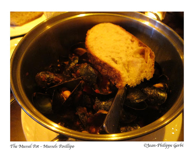 Image of Mussels Posillipo at The Mussel Pot in Greenwich Village NYC, New York