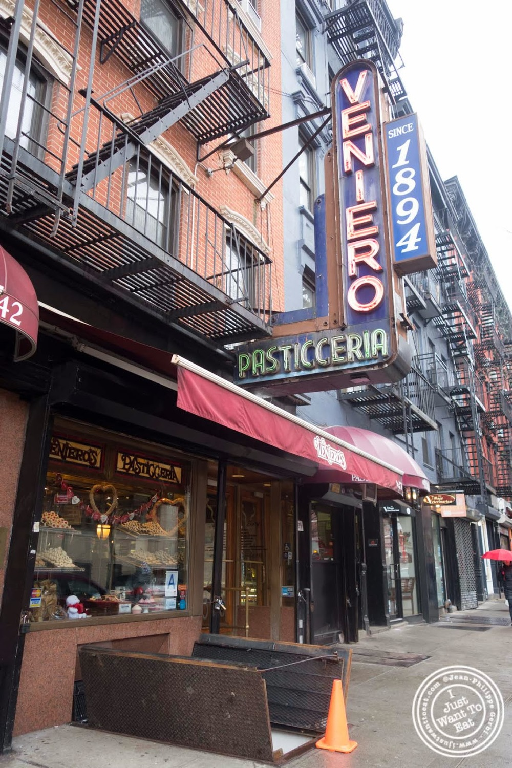 image of Veniero Pasticceria in the East Village, NYC, New York