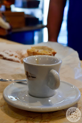 image of espresso at Villabate-Alba in Bensonhurst, Brooklyn, New York