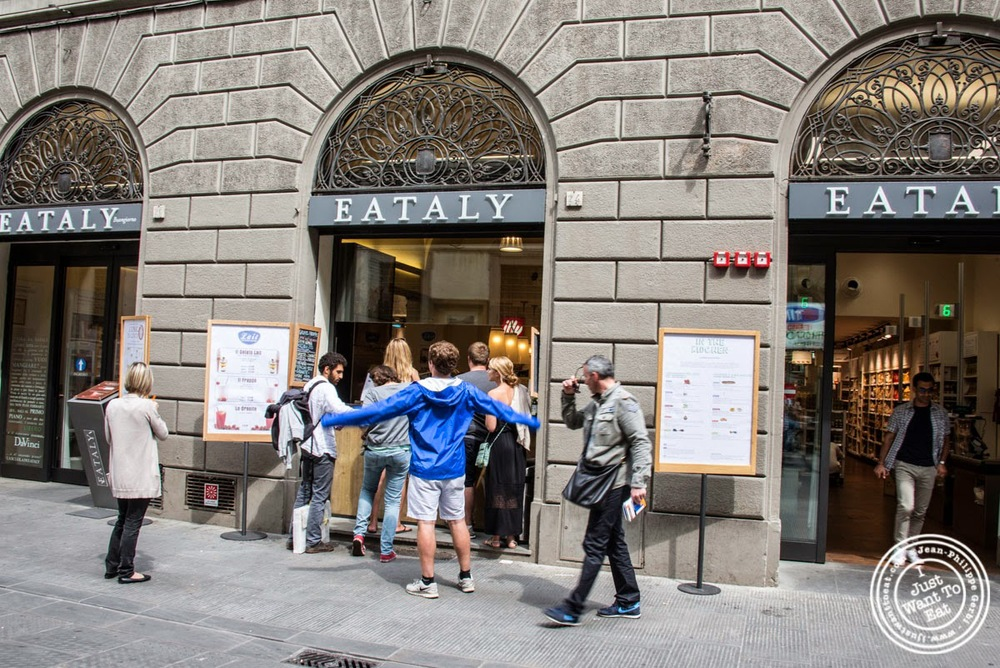 Eataly in Florence, Italy