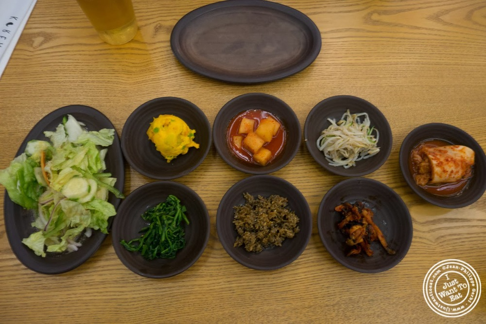 image of banchan at Korea Spoon in KTown NYC, New York