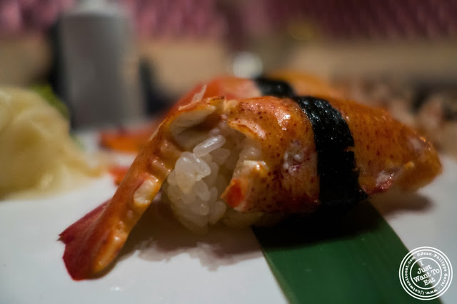 image of Lobster sushi at Fushimi in Bay Ridge, Brooklyn, New York