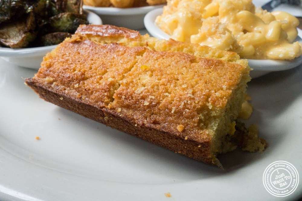 image of Corn bread at Brother Jimmy's BBQ, nyc, ny