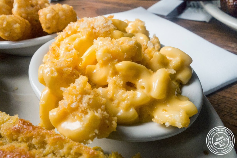 image of Mac & Cheese at Brother Jimmy's BBQ, nyc, ny
