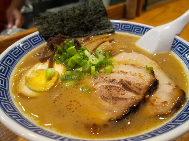 image of shoyu ramen at Kambi Ramen House in the East Village, NYC, New York
