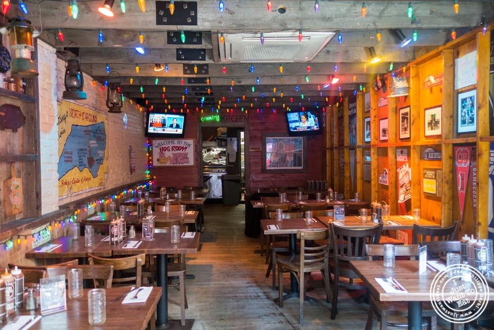 image of dining room at Brother Jimmy's BBQ, nyc, ny