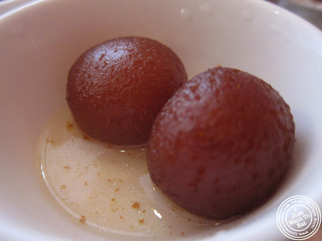 gulab jamun at Hoboken Dhaba, New Jersey NJ