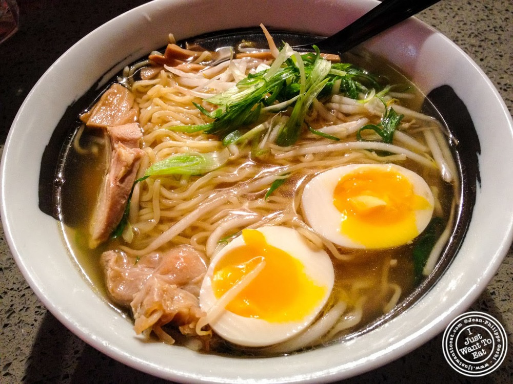 image of Shio ramen at Tabata Noodle in Hell's Kitchen, NYC, New York