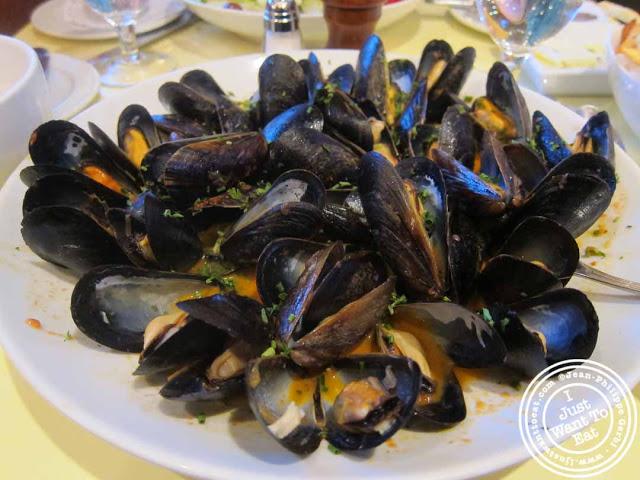 Image of mussels provencales at Nice Matin on the Upper West Side in NYC, New York