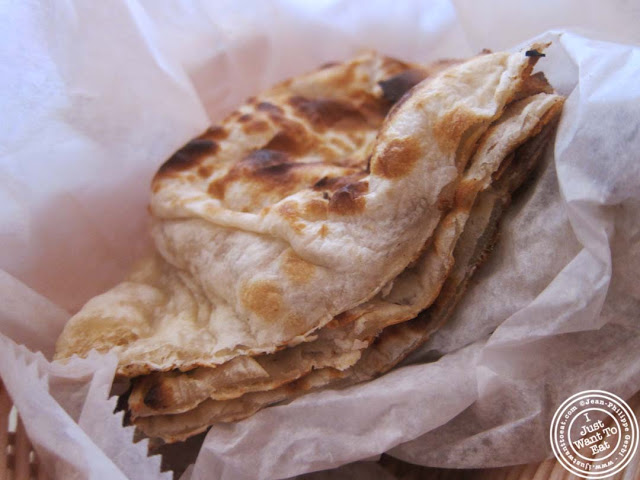 image of naan at Hoboken Dhaba, New Jersey NJ
