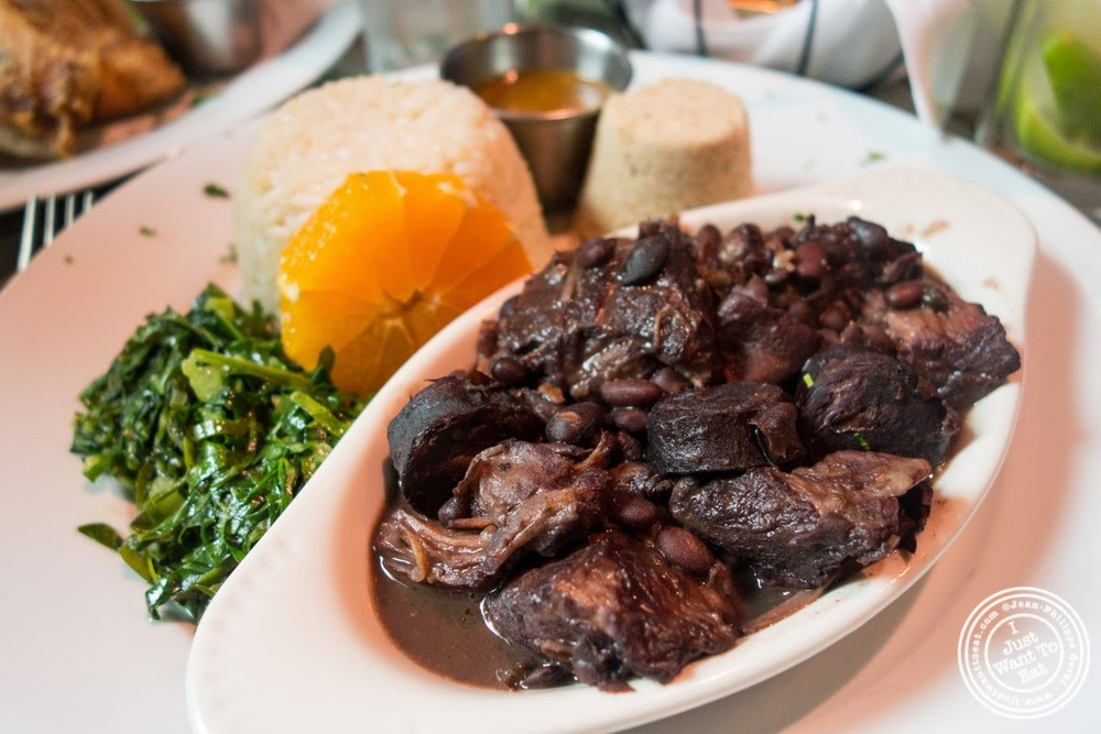 feijoada at Sounds Of Brazil SOB's in NY, New York