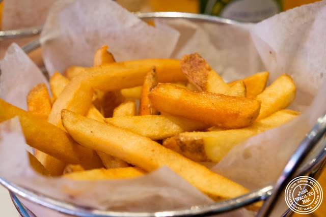 image of French fries at 67 Burger in Brooklyn, New York