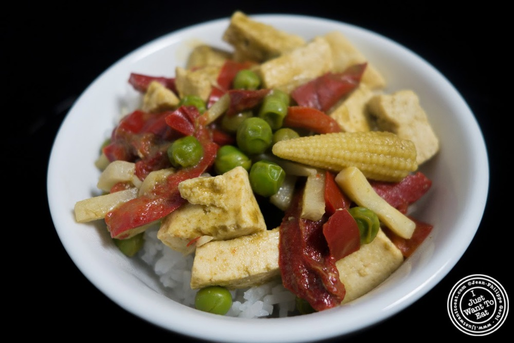 image of Thai Green Curry from Seven Spoons frozen dishes