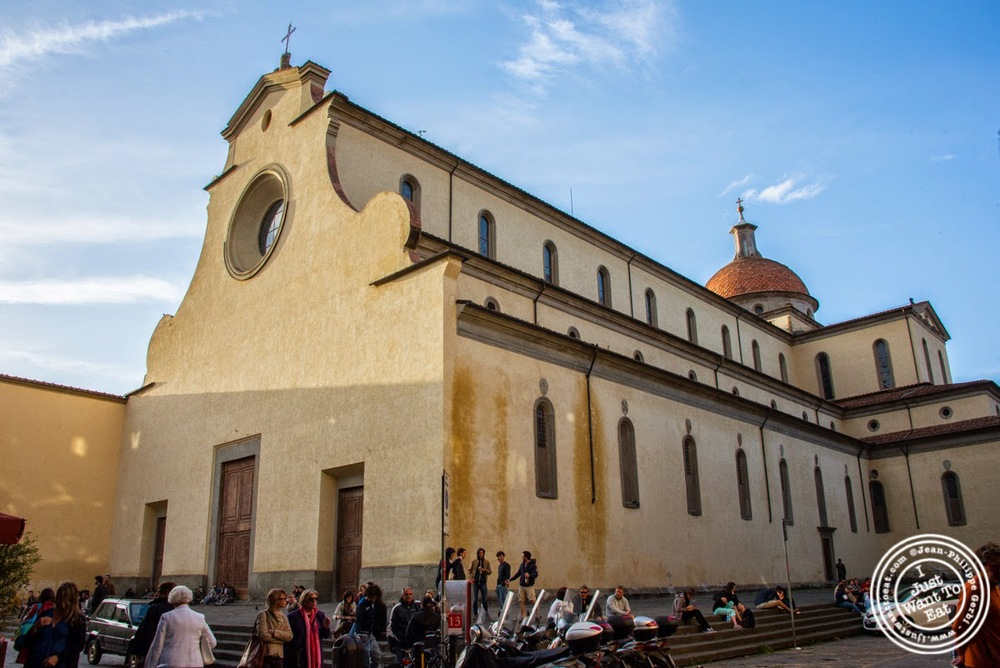 image of Santo Spirito Basilica in Florence, Italy