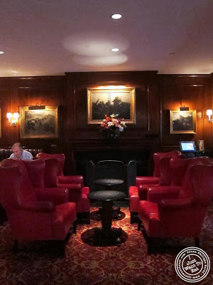 image of lounge at 21 Club in NYC, New York