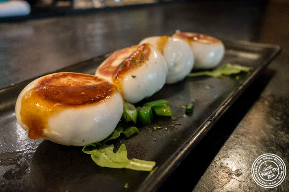 image of pork buns at Red Farm in NYC, NY