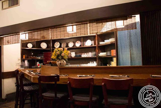 image of Omen Japanese restaurant in Soho NYC, New York
