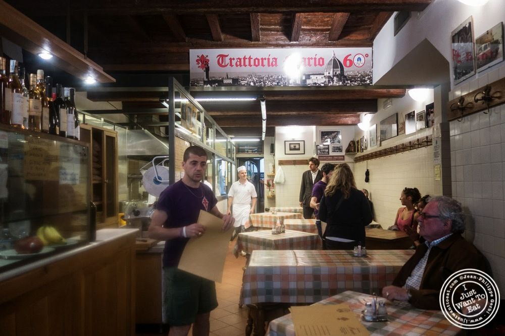 image of Trattoria Mario, communal dining in Florence, Italy