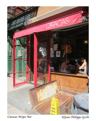 Image of Caracas Arepa Bar in the East Village NYC, New York