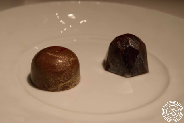 image of chocolates at Gramercy Tavern in NYC, New York