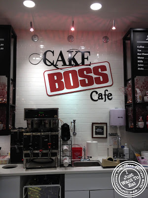 Image of the Inside of the Cake Boss Cafe at Port Authority in NYC, New York