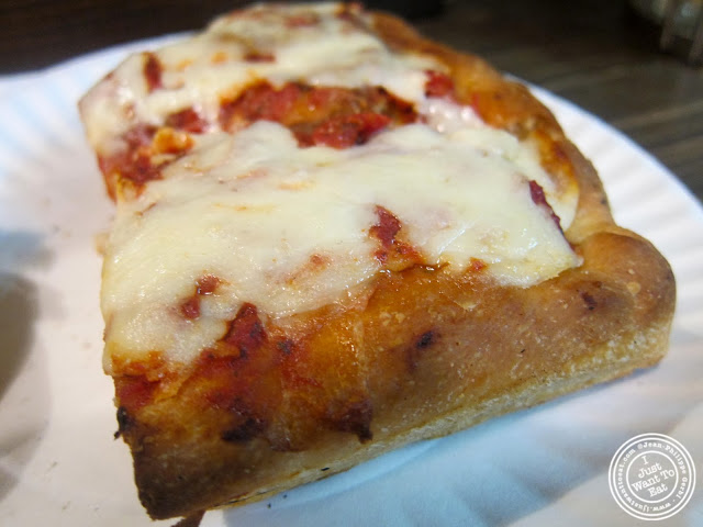 image of Sicilian pizza at Stromboli Pizza in NYC, New York