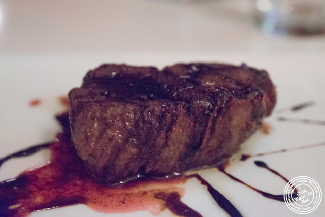 image of filet mignon at Giano Italian restaurant in the East Village - NYC, New York