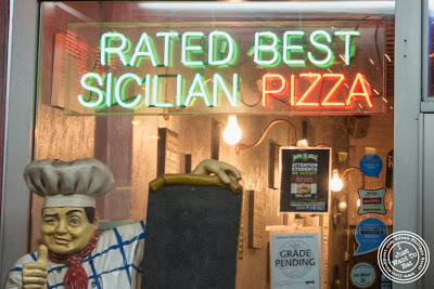 image of Famous Ben's pizza in Soho, NYC, New York