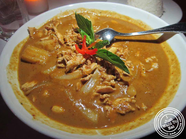 Image of Chicken Massaman at Spice, Thai restaurant in NYC, New York