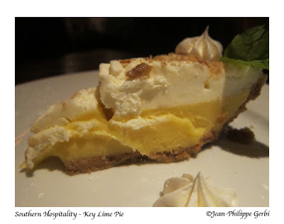 Image of Key Lime pie at Southern Hospitality in Hell's Kitchen NYC, New York