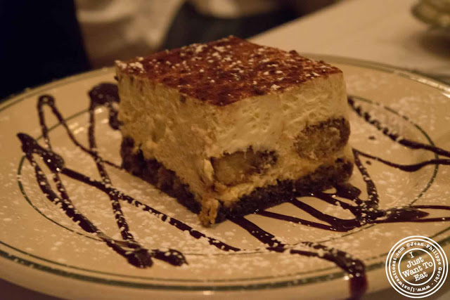 Image of Tiramisu at Ben and Jack's steakhouse in Murray Hill NYC, New York