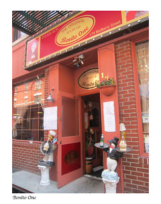 Image of Benito one Italian restaurant in Little Italy NYC, New York