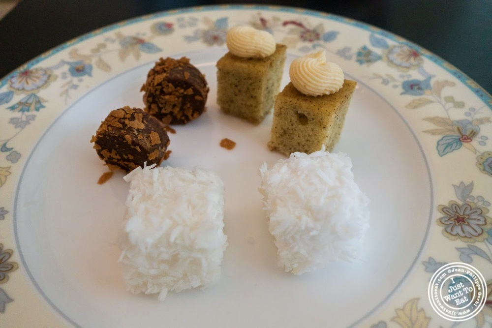 image of petits fours at Chikalicious Dessert Bar in the East Village, NYC, NY