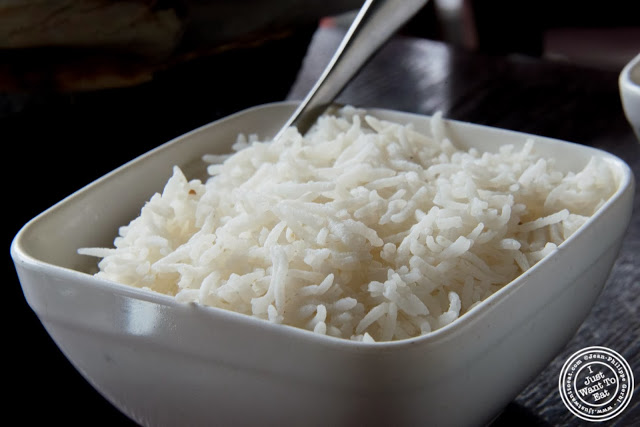 image of White rice at The Masala Wala in NYC, New York