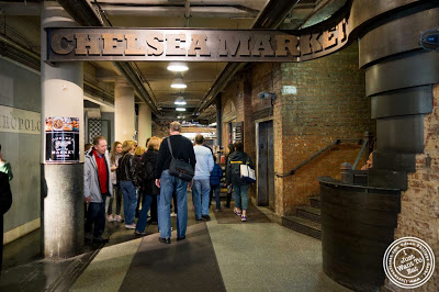 image of Chelsea Market in NYC, New York