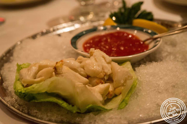 Image of Jumbo lump crab at Ben and Jack's steakhouse in Murray Hill NYC, New York