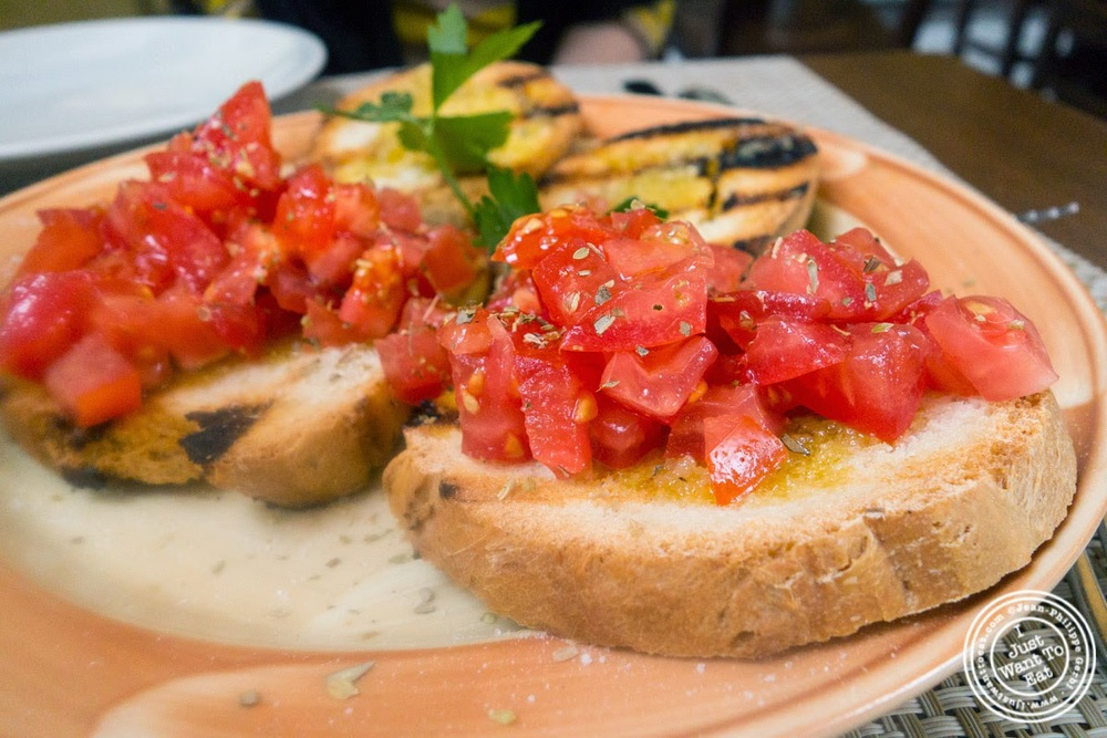 image of bruschetta at Il Salimbecco in Florence, Italy