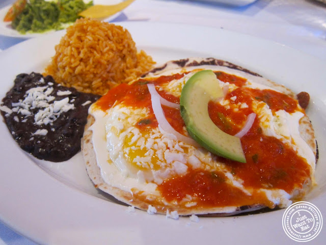 image of Huevos Rancheros at Sabores in Hoboken, NJ