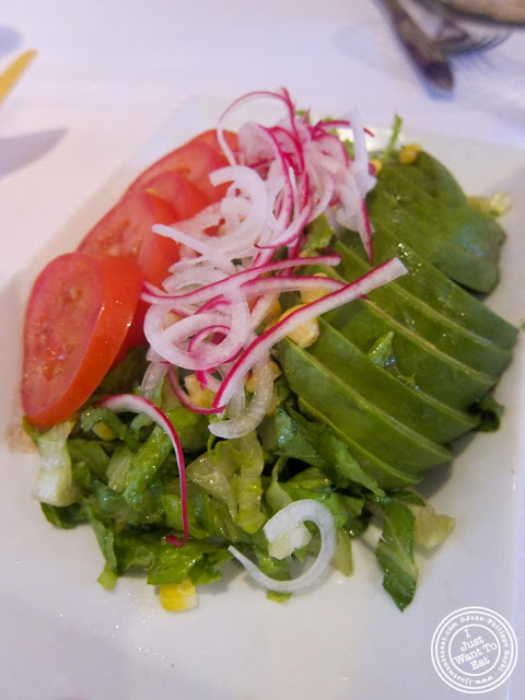 image of ensalada verde at Sabores in Hoboken, NJ