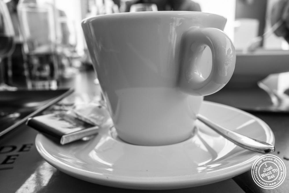 image of espresso at Les Jardins de Sainte-Cécile in Grenoble, France