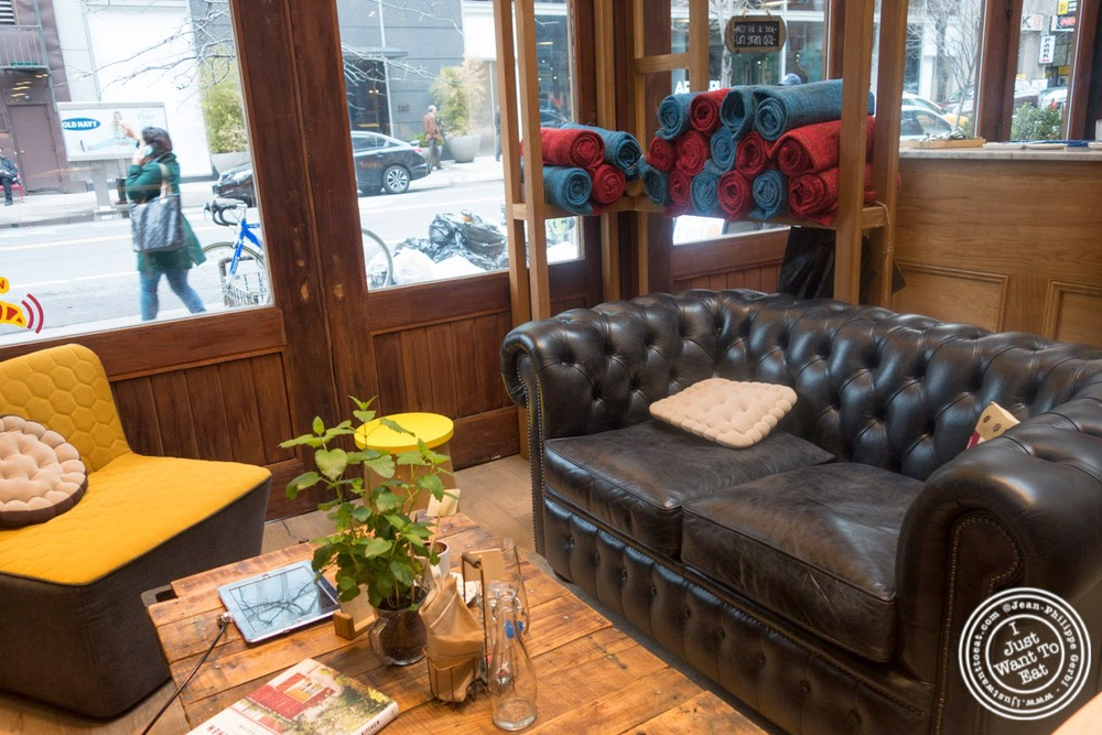image of living room at Hogar Dulce Hogar, a Basque Bakery in Soho