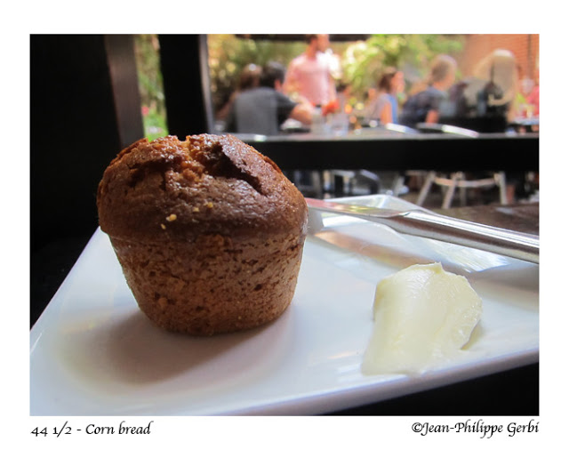 Image of Corn bread at 44 and a half in Hell's Kitchen NYC, New York
