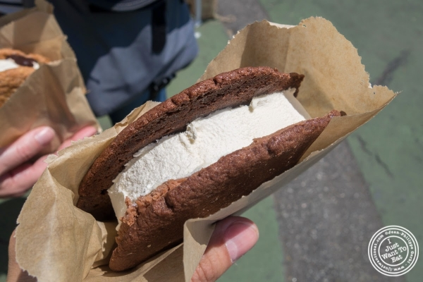 The Goodwich from The Good Batch Ice Cream Sandwich at Smorgasburg in Brooklyn, NY
