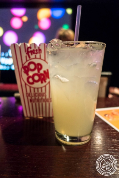 lemonade at The NiteHawk Movie Theater in Brooklyn, NY