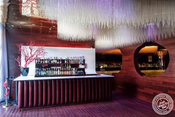 bar at Don Coqui, Puerto Rican restaurant in Astoria, NY