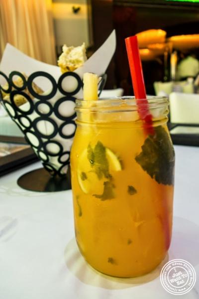 mango morjito at Don Coqui, Puerto Rican restaurant in Astoria, NY