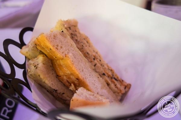 bread basket at Don Coqui, Puerto Rican restaurant in Astoria, NY
