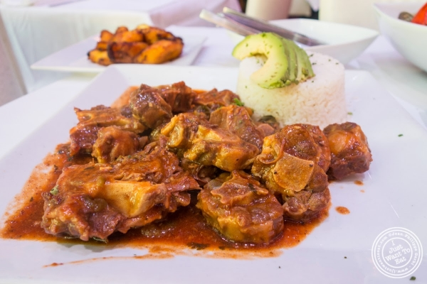 oxtail at Don Coqui, Puerto Rican restaurant in Astoria, NY