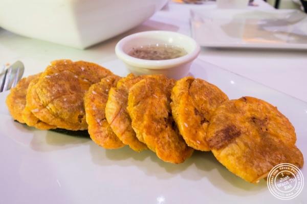 tostones at Don Coqui, Puerto Rican restaurant in Astoria, NY