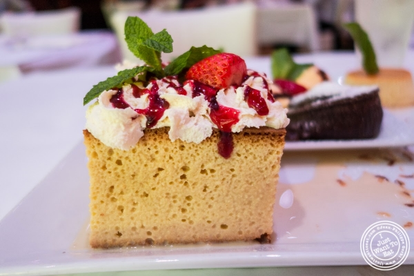 tres leches at Don Coqui, Puerto Rican restaurant in Astoria, NY